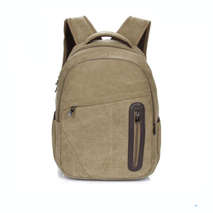 Qualified manufacture sports canvas backpack vans backpacks TYS-15113050