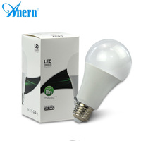 Low price aluminum CE RoHS milk cover 5W 7W 9W 12v dc led light bulb