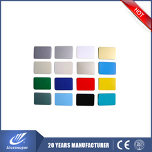 High strength aluminum composite panel price list ACP