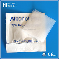 Cheapest price alcohol prep pad 70% isopropyl alcohol