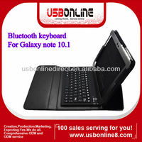 For Galaxy Tab Note 10.1 Wireless Bluetooth Keyboard Case