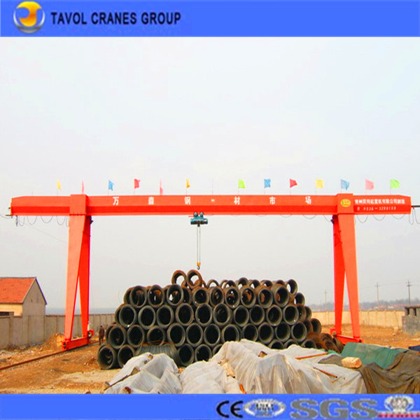 China best quality small material handing lifting equipment gantry crane factory from China