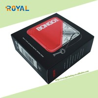 High quality mens underwear garment packaging box