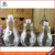 800ml Novelty empty light bulb drink bottle glass beverage bottle with screw cap