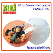 5Cm Customized Wholesale Cartoon Figure Capsule Toys For Vending Machine