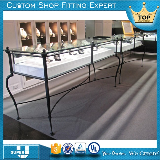 Custom Tailor Commercial Special Design Show Case Display Glass