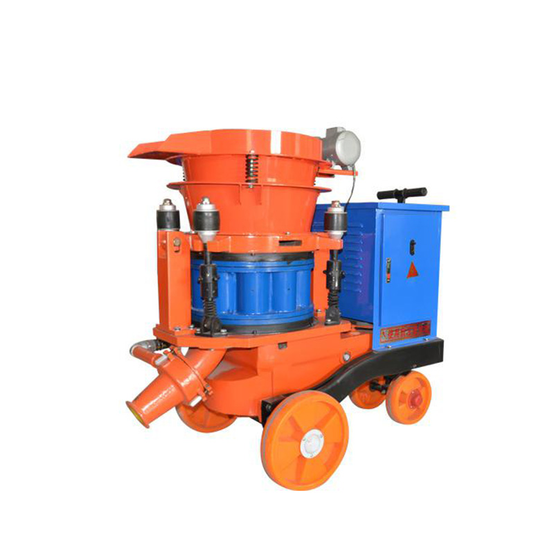 PZ-7B Explosion-Proof Semi Dry Spray Machine Dedusting Wet/Dry Shotcrete Machine