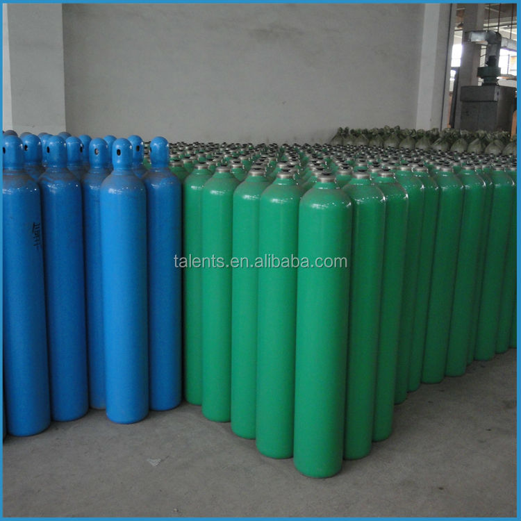 China steel cylinders industry used steel gas cylinder