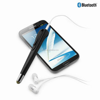 bluetooth headphone music player microphone earphone bluetooth metal digital stylus pen L1-BT