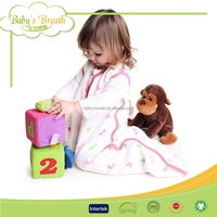 BSB1257 children swaddle blanket sleeping bags muslin low price high quality