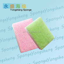 Household PET cloth and kitchen cleaning sponge factory bulk kitchen sponge
