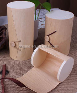 birch bark wine box packaging unfinished wood gift boxes