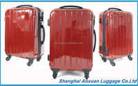 ABS PC Suitcase and ABS PC luggage set carry on trolley bag trolley set