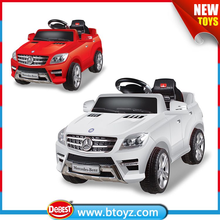 Licensed Mercedes Benz ML-350 Battery Powered Kids Electric Ride On Car 2016