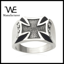 Curved Concave Handmade High Polish Ring Stainless Steel