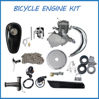2 stroke 80cc Motorised Push bike bicycle engine kit/80cc Petrol Motorized bicycle engine
