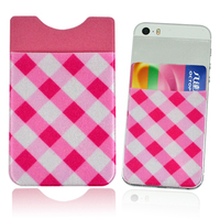 custom cheap metro card holder on mobile phone