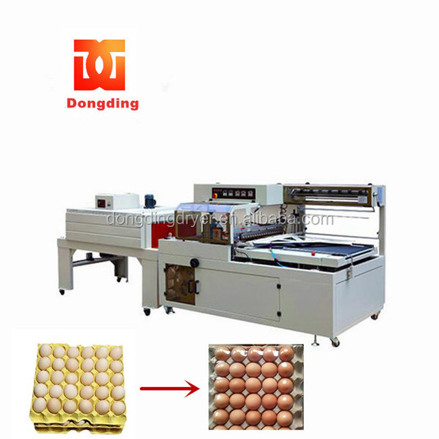 film shrink wrapping machine thermal seal cut shrink packing/packaging machine