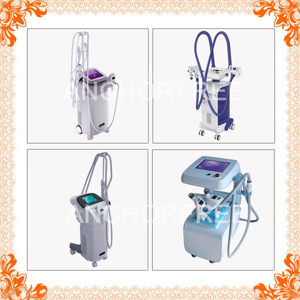 Ultrasonic Cavitation+Vacuum Liposuction+Laser+Bipolar RF+Roller Massage Ultrasonic Weight Loss Machines CE