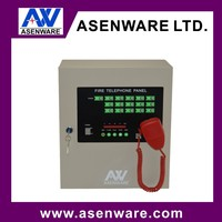 8 Zone Fire Telephone Panel with Telephone Jack