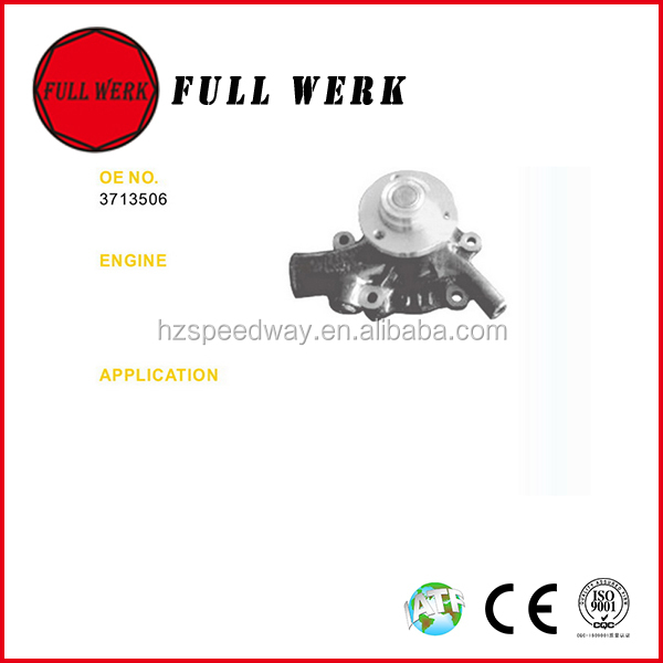 Water pump FULL WERK car cooling system for MAN diesel engine water pump set 51065006492 51065009492