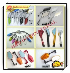 Cheap motorcycle mirror-6 high quality motorcycle parts motorcycle mirror