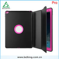 Ultra Thin 3 IN 1 Case For iPad Pro With Auto Dormancy Business Stand Holder Case For iPad pro