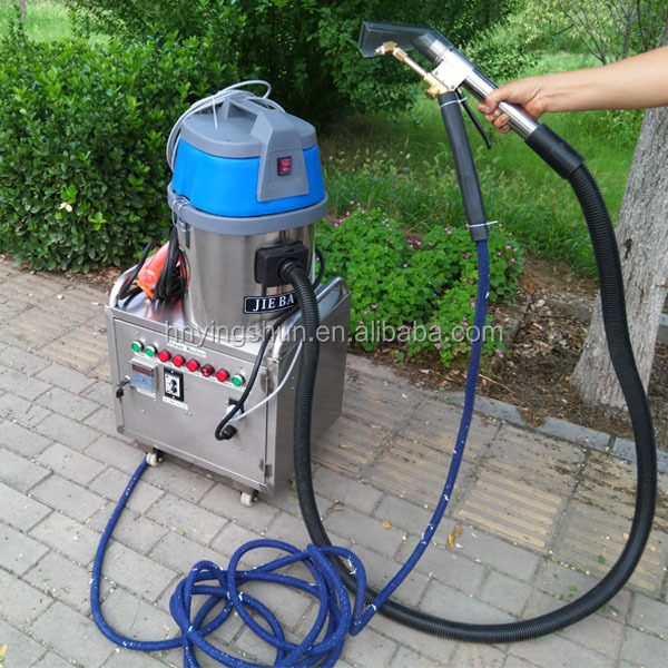 CE dry and wet 10 bar mini steam car washer,vapor oil drum cleaning equipment