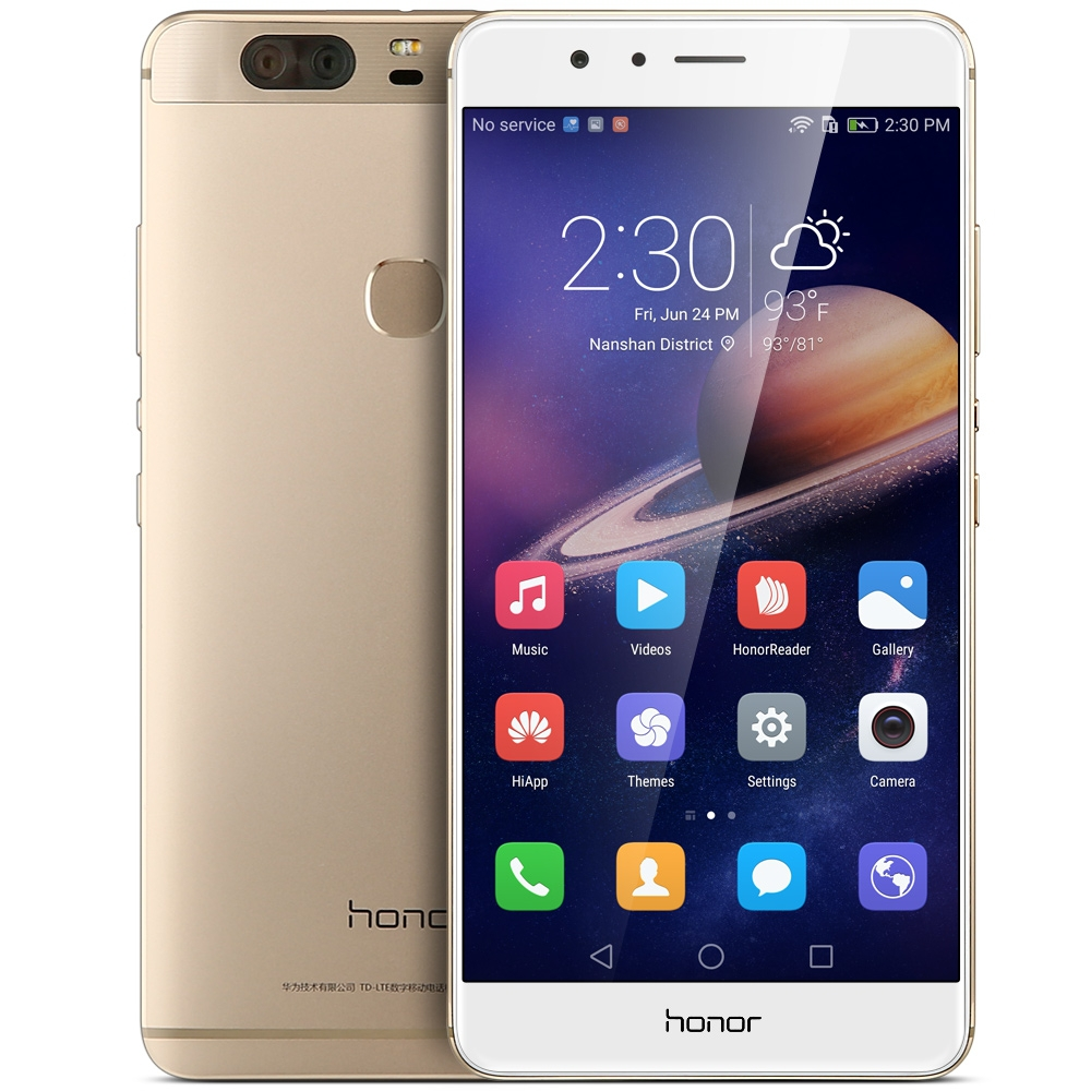 Original Huawei Honor V8 4G LTE 5.7 inch 4GB RAM 32/64G ROM Mobile Phone Android 6.0 Kirin 950 Octa Core Dual Rear 12.0MP Camera