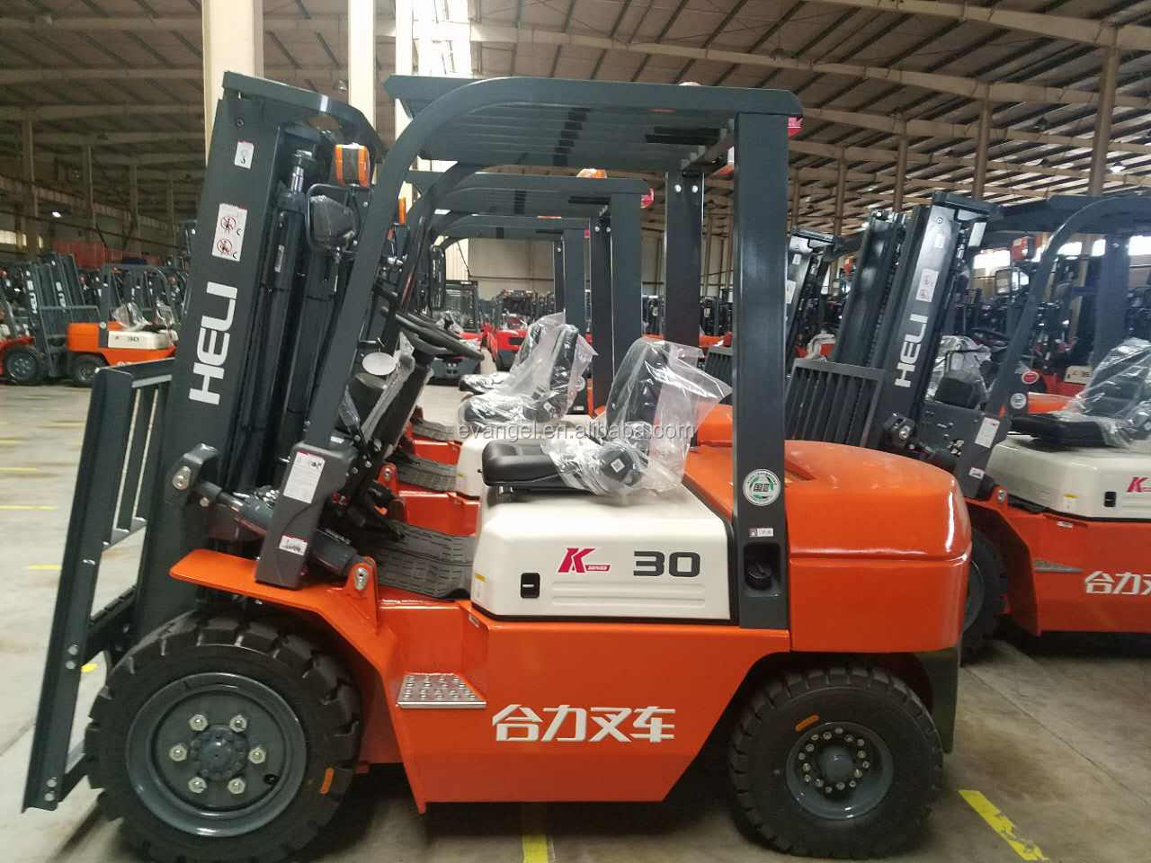 Heli 5 ton diesel forklift CPCD50 for sale