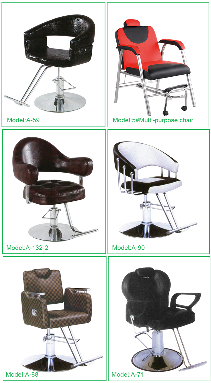 2019 hot sale hydraulic reclining barber chair manufacturer in China