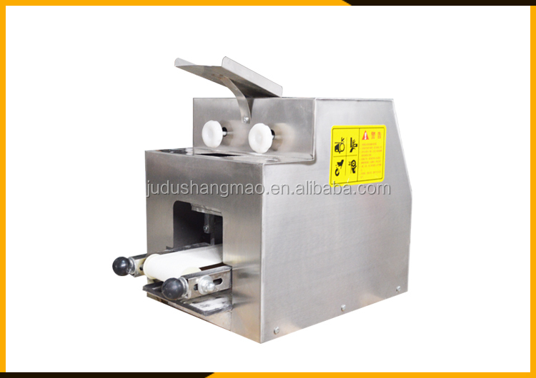 Industrial machine for dumpling skin