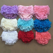 Super comfortable kids bloomers with retty design wholesale baby ruffle bloomers