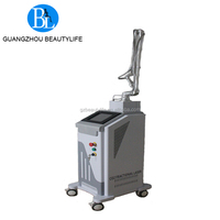 Beauty salon fractional co2 laser skin resurfacing/ stretch mark removal machine