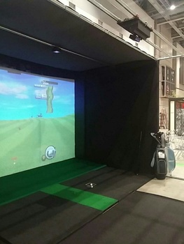 Bravo Vision Golf Simulator