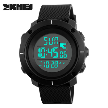 1213 SKMEI Luxury Brand Men Sports Watches LED Digital Fashion Simple Waterproof Men's Wristwatches