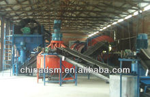China Dashan complete set of organic fertilizer production line