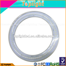 t9 led tube circulaire g10q smd3014 led circle 300mm 18w