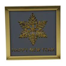 Sequined design plastic wall hanging decor for home/hotel