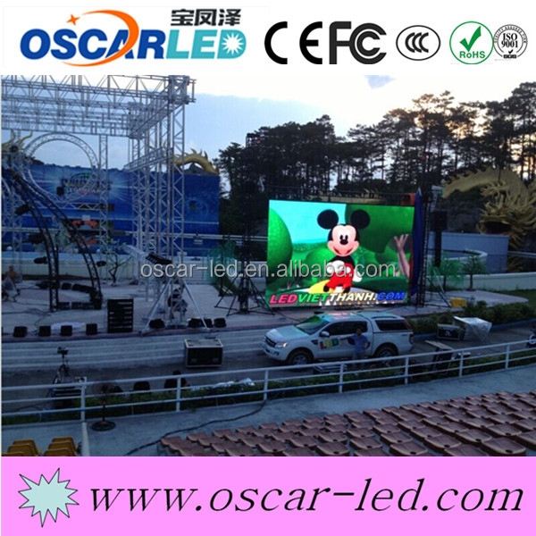 Specialty design P12 outdoor full color led commercial advertising display screen