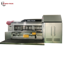 Corrugated Carton Printing Machine Pizza Box Making Machine