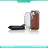 Best quality cheap portable keychain leather usb flash drive