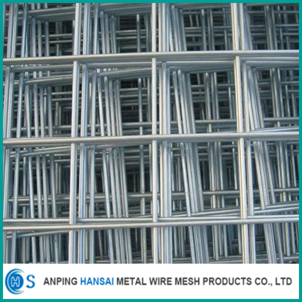 good quality hot dipped galvanized welded iron wire mesh panel and pvc coated welded wire mesh panels for sale