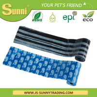 wholesale custom biodegradable and compostable dog poop bag with dispenser