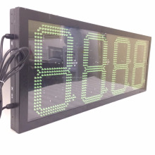 display asram outdoor waterproof 7segment digital led gas price sign/led oil station display/led fuel gasoline