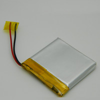 rechargeable 3.7v 1500mah li ion polymer battery pack with PCB for led light