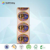 Top level antique printing paper sticker label