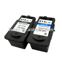 High quality remanufactured ink cartridge for Canon 810 811