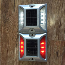 Luminous double sides 6 led solar reflective road markers