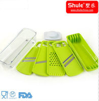 Plastic Vegetable and Fruit Nice Dicer Sets (4 in 1)